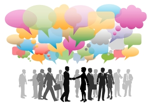 image of people networking