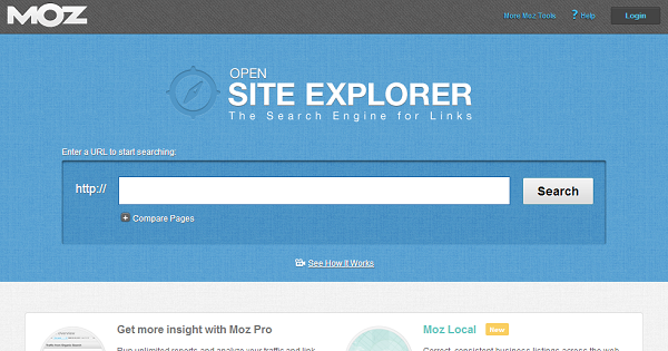 open site explorer