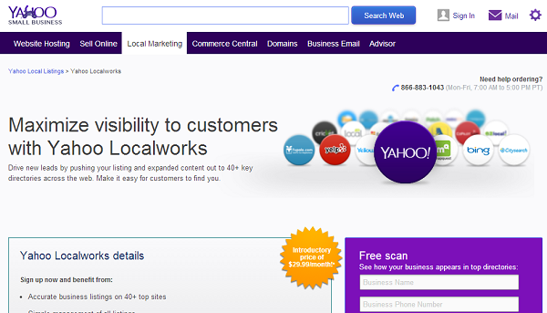yahoo local works