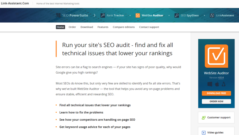 website audit tool